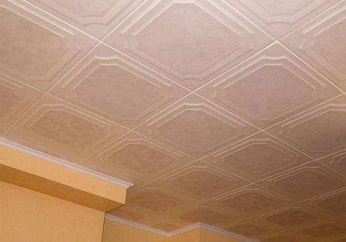 Основы поклейки потолочных плит